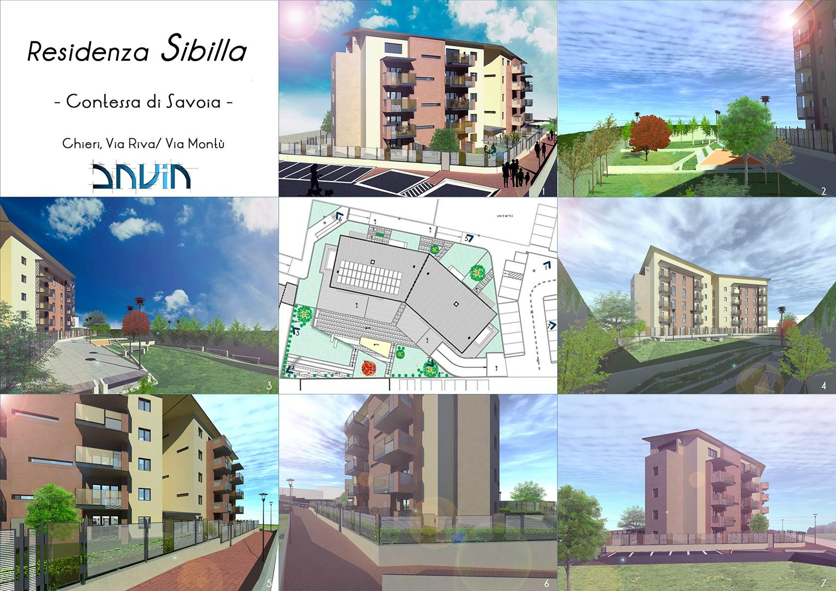 Residenza Sibilla - Contessa di Savoia – Chieri, Via Riva/Via Montù - Savia Srl